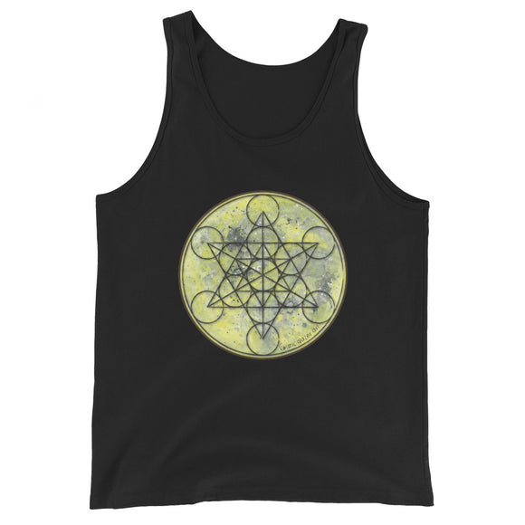 Full Moon Metatron Unisex Tank Top