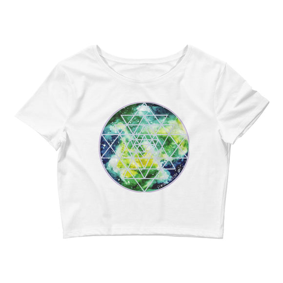 Element Sri Yantra Womens Crop Top