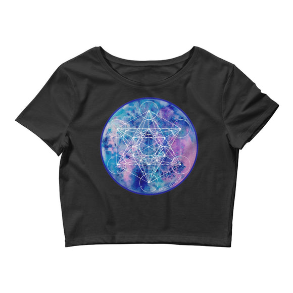 Zenetae Metatron Women's Crop Tee