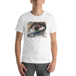 Watercolor Eye I Short-Sleeve Unisex T-Shirt