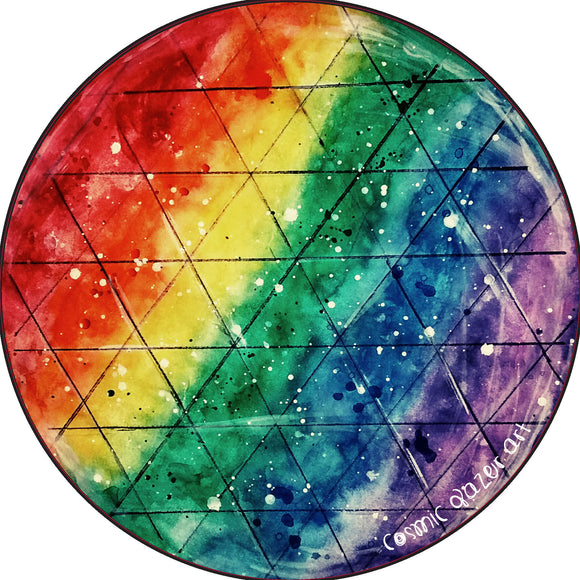 Rainbow Prism sticker sunproof waterproof watercolor art