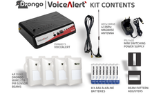 Load image into Gallery viewer, Voice Alert Kit (4 Sensors) - DVA6001-KIT