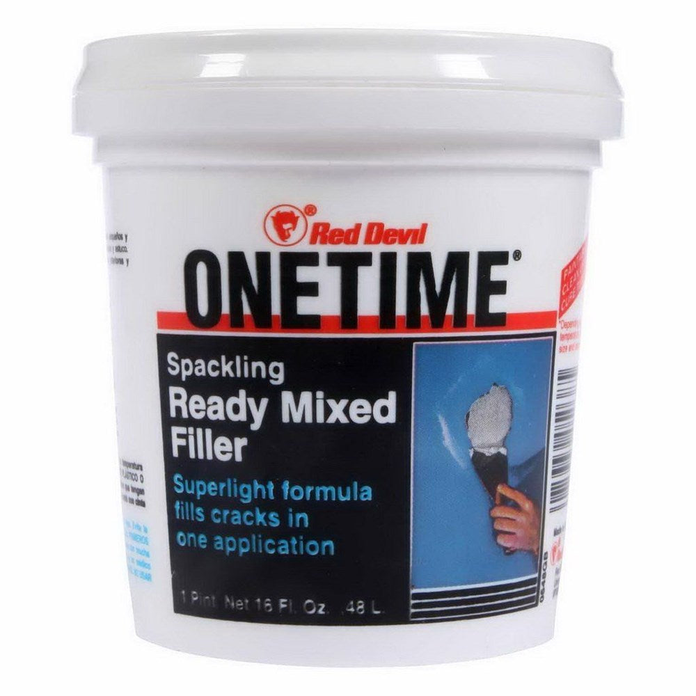 Red Devil OneTime 480mL Ready Mixed Filler White