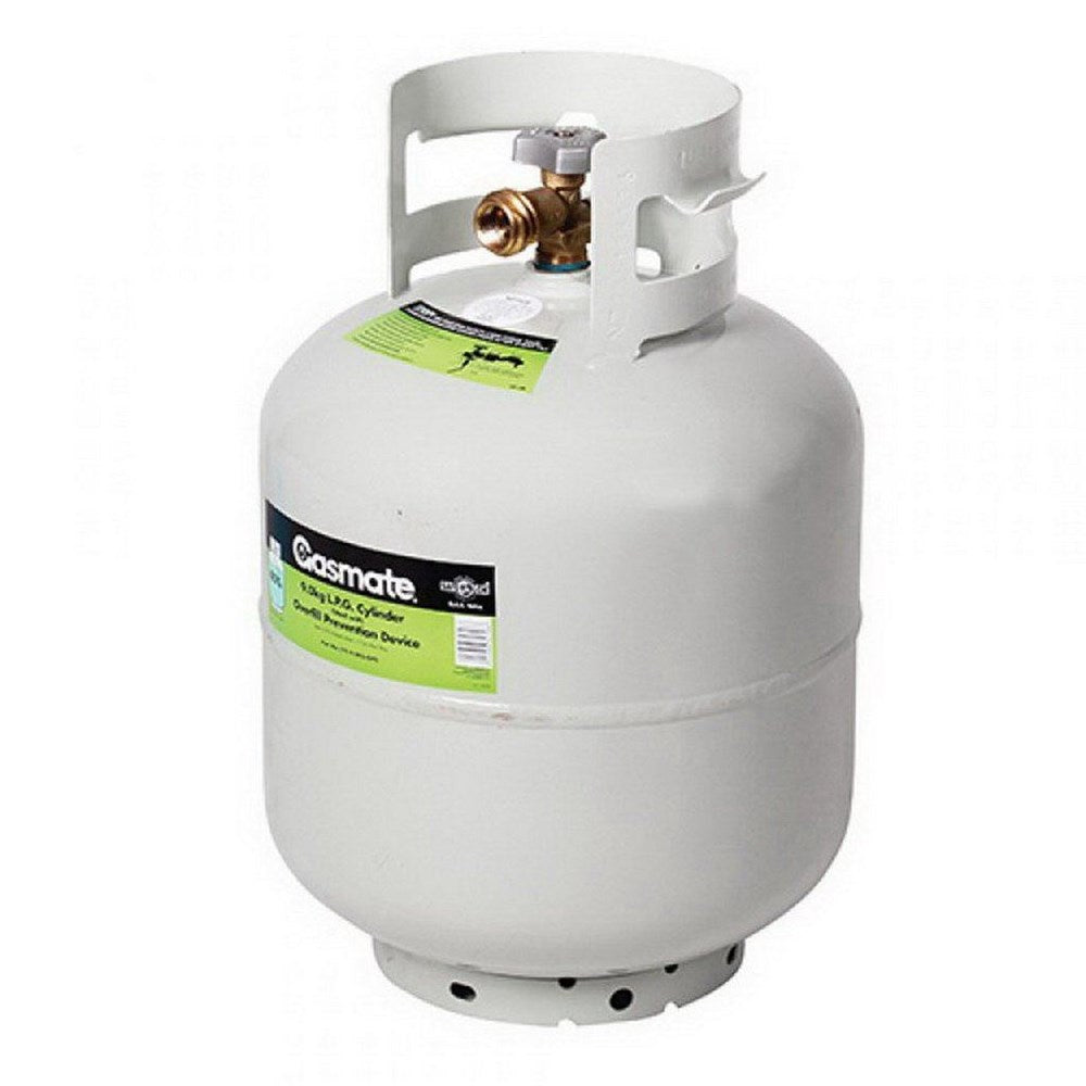 9kg QCC LPG Camping Cylinder with Overfill Prevention Device