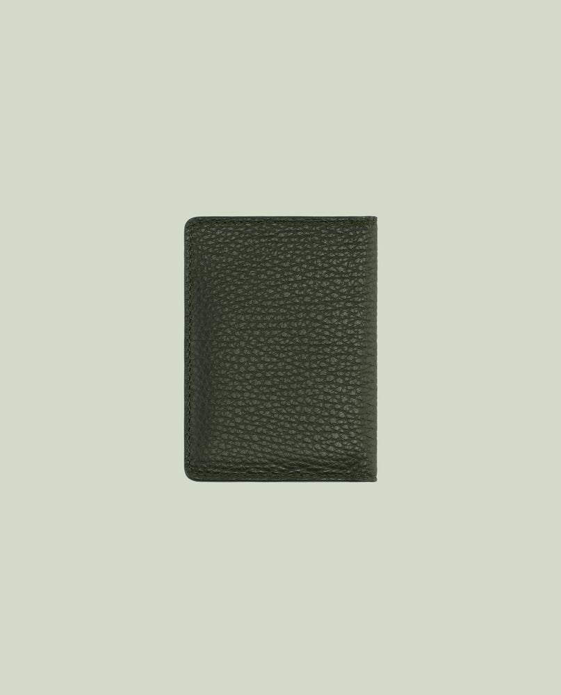 Adrien cardholder in leather