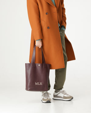 Coco shopper in leather