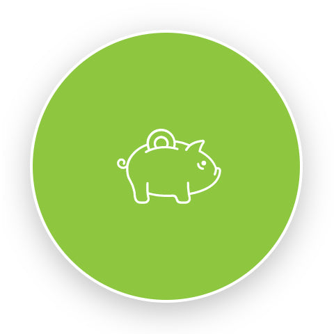 PIS Managed Print Services piggy bank icon