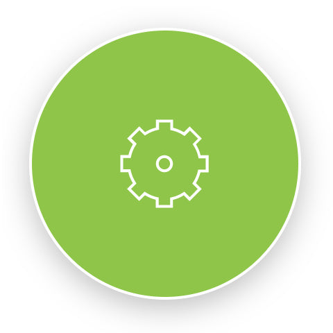 PIS Services gear icon