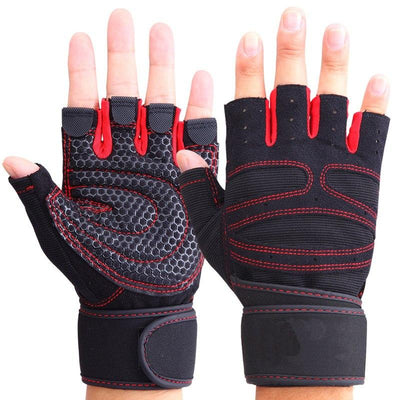 Half Finger Fitness Gloves