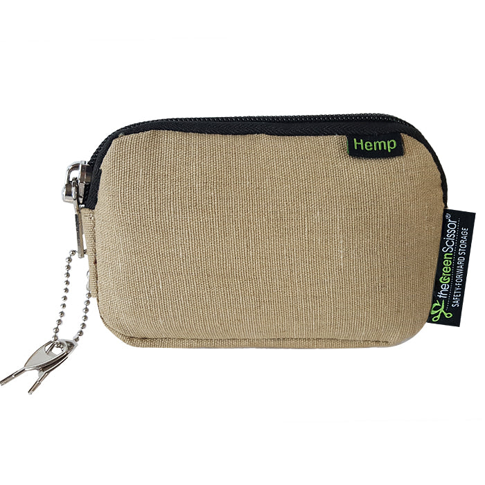 Padded Locking Hemp Stash Bag Small
