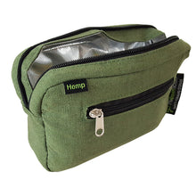 Load image into Gallery viewer, Padded Locking Hemp Stash Bag Large