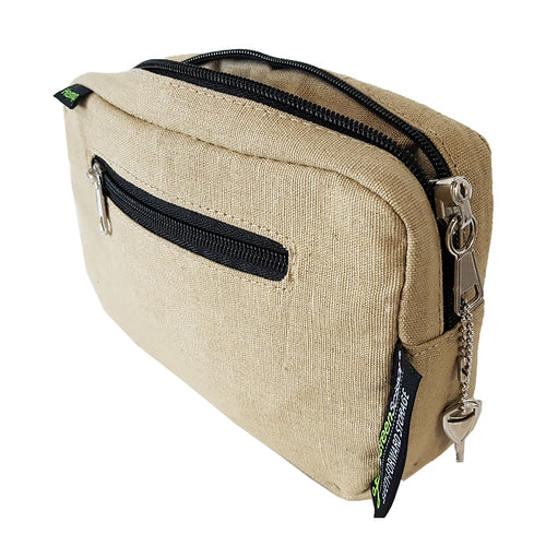 Padded Locking Hemp Stash Bag Large