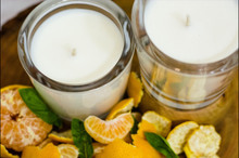 Load image into Gallery viewer, 100% Vegan Basil & Mandarin candle
