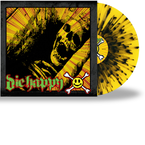 DIE HAPPY - DIE HAPPY (SPLATTER VINYL)