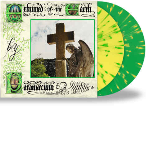 PARAMAECIUM - EXHUMED OF THE EARTH (*NEW-DOUBLE SPLATTER VINYL, Gatefold, 2020, Bombworks)