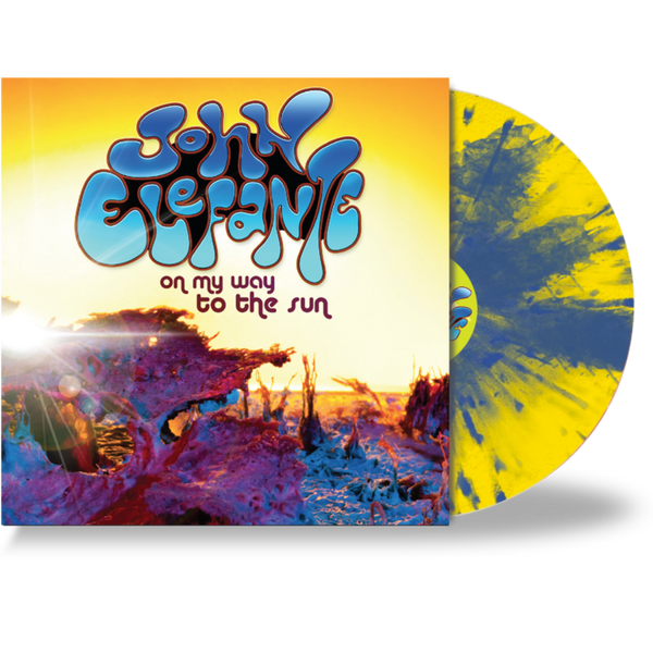 JOHN ELEFANTE - ON MY WAY TO THE SUN (*Yellow Vinyl) KANSAS / MASTEDON