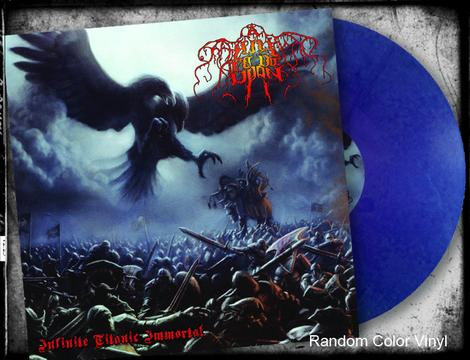 A HILL TO DIE UPON - INFINITE TITANIC IMMORTAL (*NEW-180 Gram Random Color Vinyl, Bombworks)