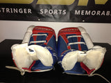 MIKE RICHTER Game Used Goalie Pads 2002