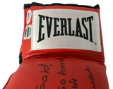 EARNIE SHAVERS Signed Boxing Glove