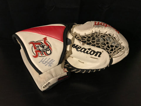 MARTIN BRODEUR Signed Heaton Goalie Glove
