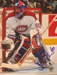JOSE THEODORE Signed Montreal Canadiens Photo