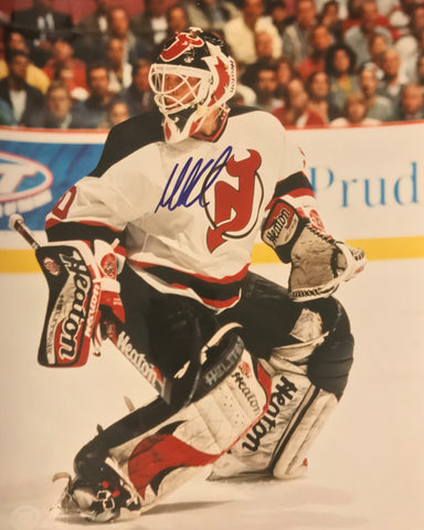 MARTIN BRODEUR Signed New Jersey Devils Photo