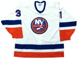 BILLY SMITH - Signed New York Islanders Jersey