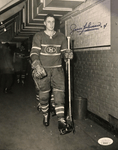 JEAN BELIVEAU Signed Montreal Canadiens Photo