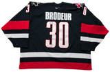 MARTIN BRODEUR - Signed Team Canada Jersey [also signed by JEAN BELIVEAU]