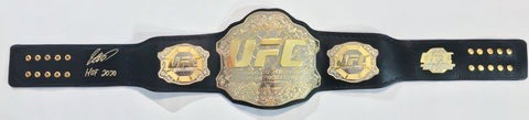 GEORGES ST-PIERRE AUTOGRAPHED REPLICA BELT