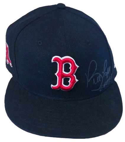 BILL LEE Signed Boston Red Sox Baseball Cap