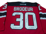 MARTIN BRODEUR - Fully Inscribed New Jersey Devils Jersey