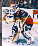 GRANT FUHR Signed Puck St. Louis Blues