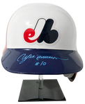 ANDRE DAWSON Signed Montreal Expos Helmet