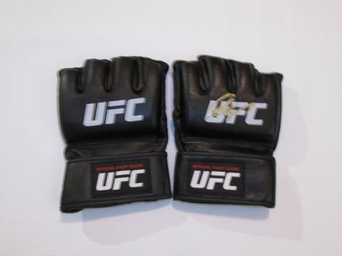 GEORGES ST-PIERRE AUTOGRAPHED OFFICIAL FIGHT GLOVES PAIR