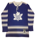 JOHNNY BOWER Fully Inscribed - Toronto Maple Leafs Jersey