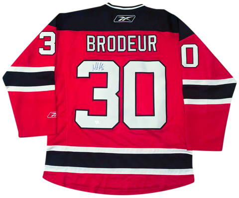 MARTIN BRODEUR - Signed New Jersey Devils Jersey