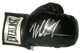 MIKE TYSON Signed Boxing Glove Black