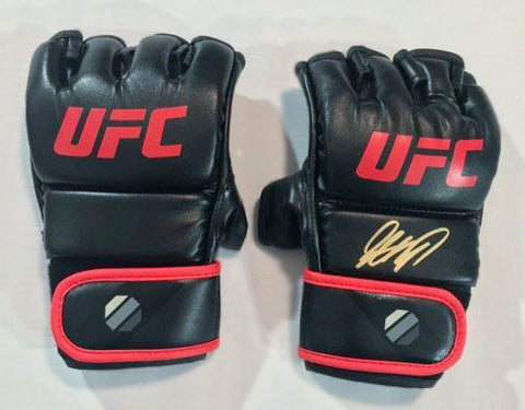 GEORGES ST-PIERRE AUTOGRAPHED REPLICA FIGHT GLOVES PAIR