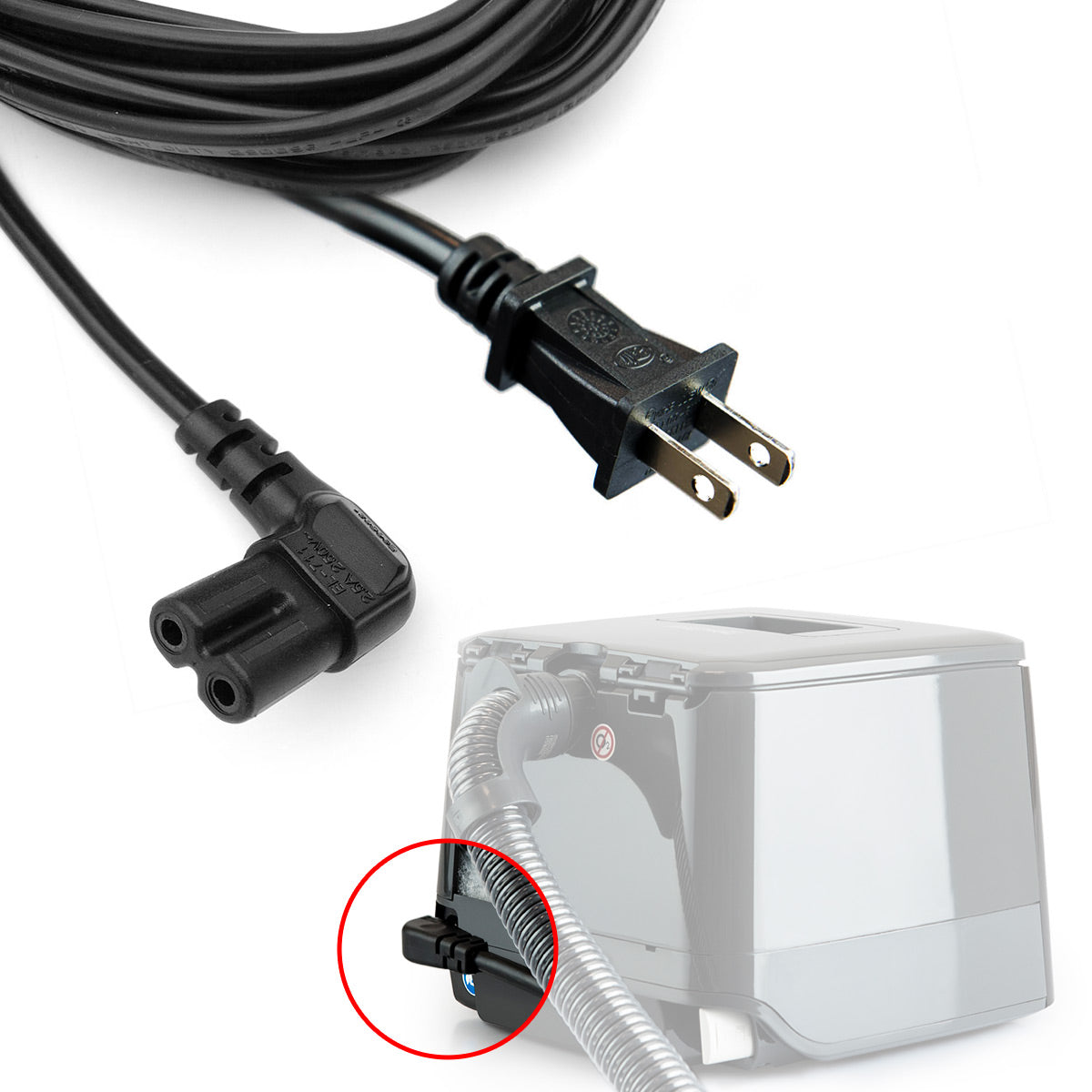F&P SleepStyle AC Power Supply Cord