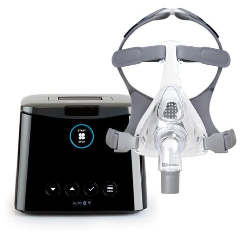 F&P SleepStyle™ Auto CPAP Machine + F&P Simplus™ Full Face Mask