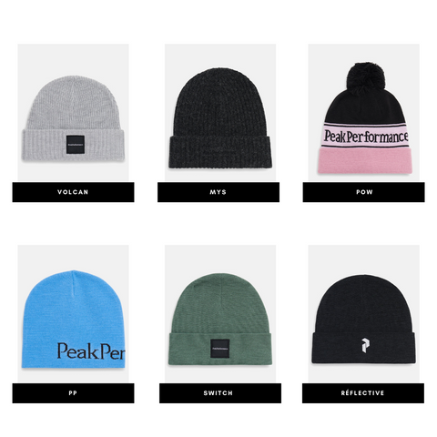 Our selection of Peak Performance hats