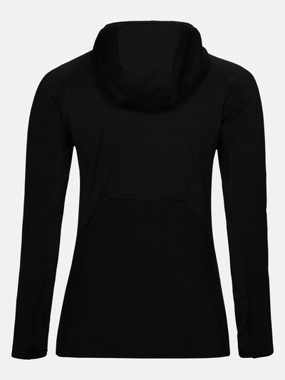 Vertical Mid Hood Jacket Women