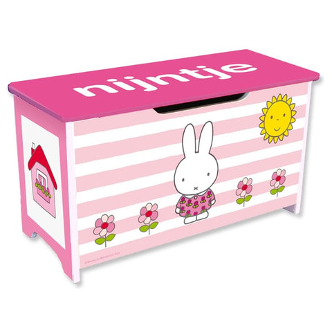 Miffy Toy Box Flower Miffy Toy Box