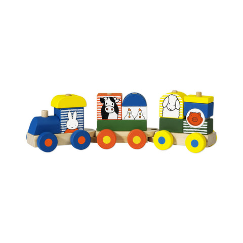 Miffy Wooden Train Miffy Wooden Train