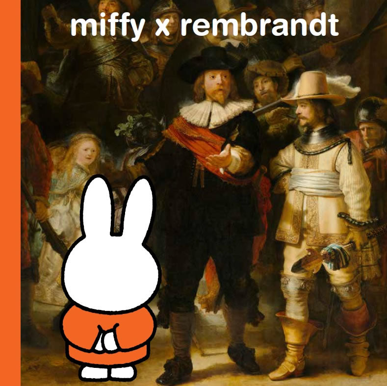 Miffy x Rembrandt Book
