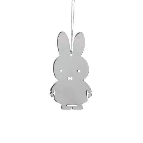 Miffy Hanging Silver Decoration