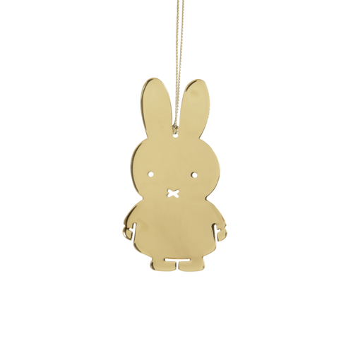 Miffy Hanging Gold Decoration