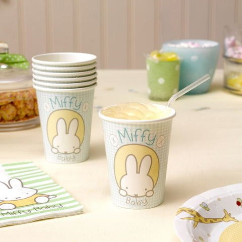 Miffy Baby Party Cups - 8 Pack