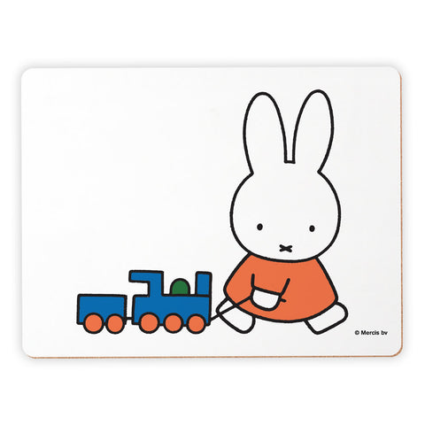 Miffy with Train Placemat